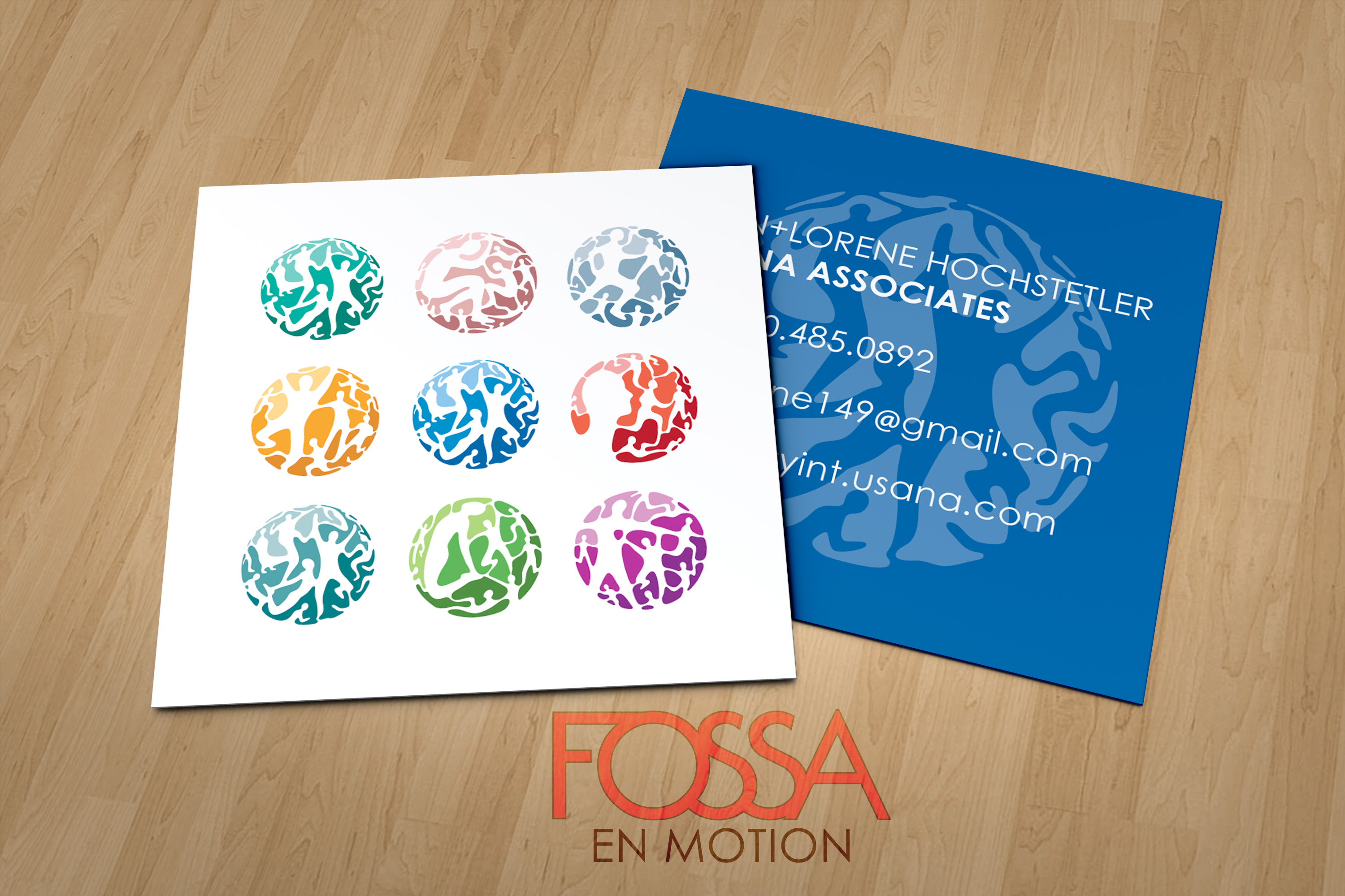 USANA Business Cards | fossa